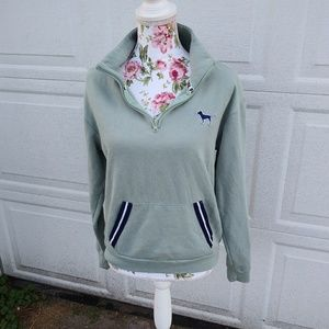 VS PINK quarter zip sweatshirt cute